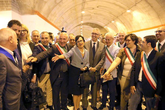sindaci_Ceriscioli_Pettinari_inaugurazione quadrilatero_Foto LB (2)