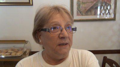 Olimpia Loreti, titolare della trattoria Cosen