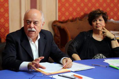 Con la vicepresidente Paolo Mariani