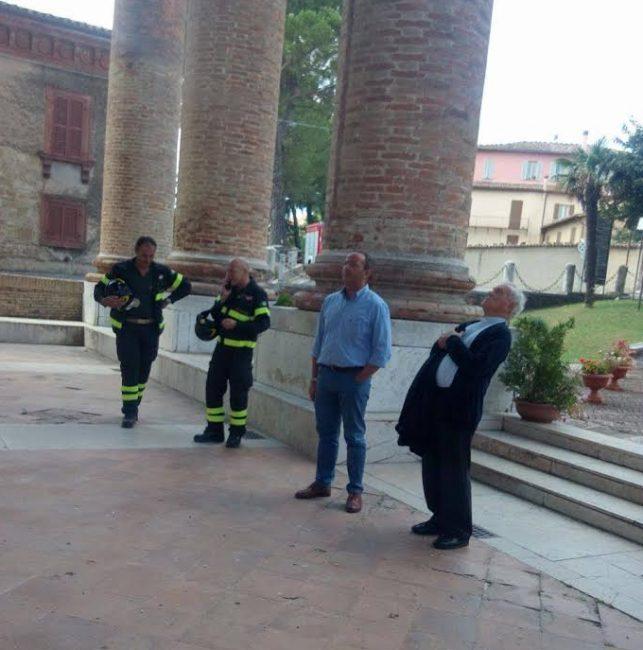 I controlli dopo il terremoto a Camerino