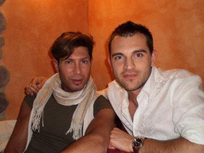 Alessandro Neroni e Juri Fiordomo. Il 35enne è sopravvissuto