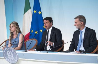 La conferenza stampa al termine del consiglio dei ministri