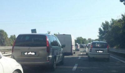 Le code di domenica in superstrada a Civitanova