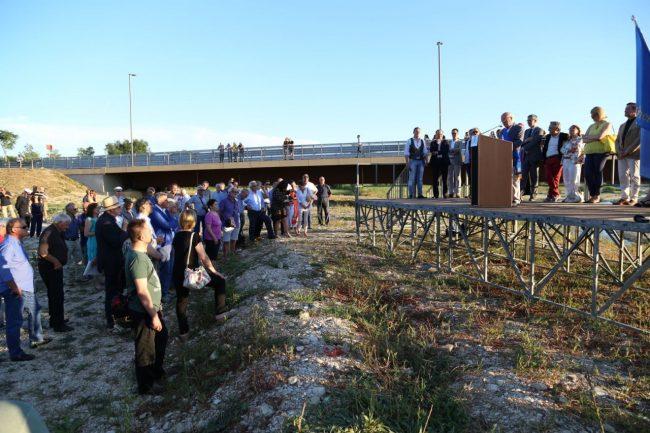 inaugurazione ponte san giovanni XXIII corridonia colbuccaro 2016 foto ap (12)