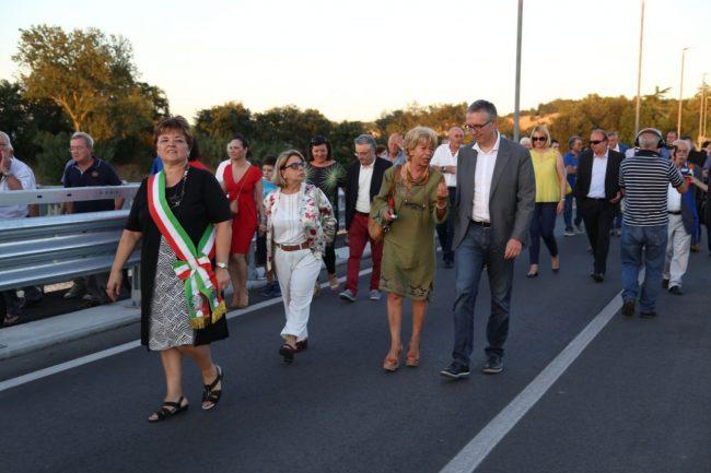 inaugurazione ponte san giovanni XXIII corridonia colbuccaro 2016 foto ap (27)