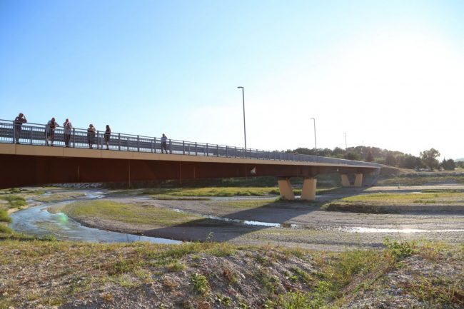 inaugurazione ponte san giovanni XXIII corridonia colbuccaro 2016 foto ap (5)