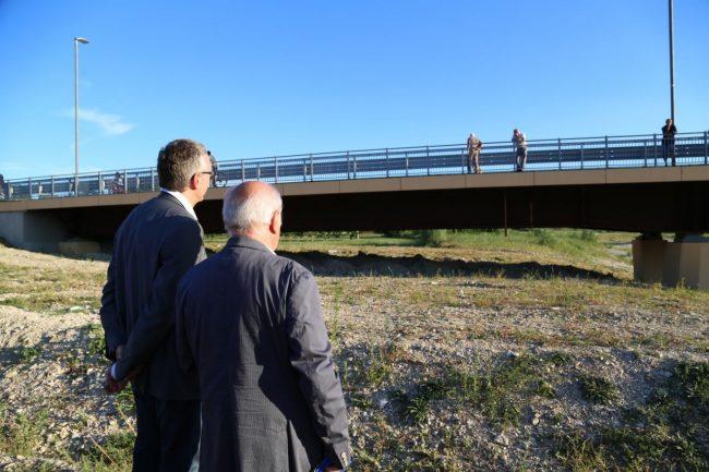 inaugurazione ponte san giovanni XXIII corridonia colbuccaro 2016 foto ap (6)