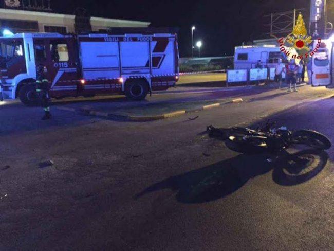 L'incidente mortale a Montecosaro