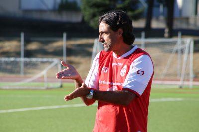 Federico Giunti, allenatore della Maceratese