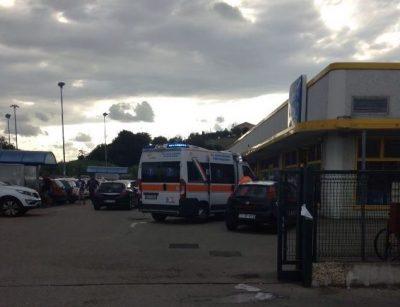 Il supermercato dopo il colpo