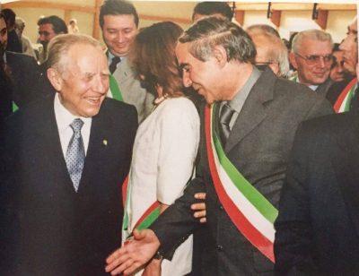 Ciampi a Serravalle, nel 2000