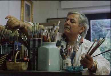 Il pittore Ivo Batocco