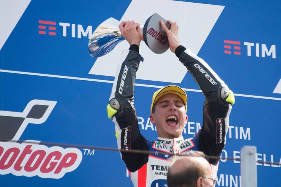 Moto2: Baldassarri super, vince a Misano