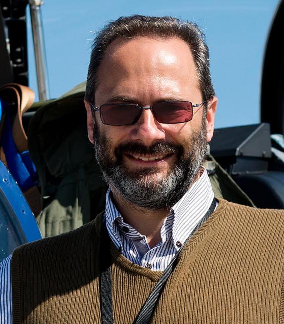 Piervittorio Farabbi, direttore dell'aeroporto dell'Umbria