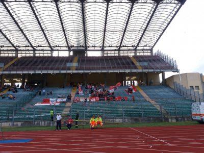 I tifosi della Maceratese a Padova