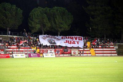 La tifoseria biancorossa pronta a seguire i propri beniamini anche a Padova