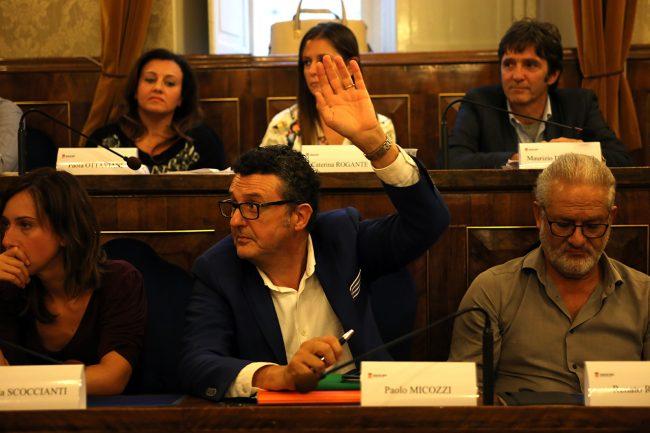 Paolo Micozzi unico voto astenuto