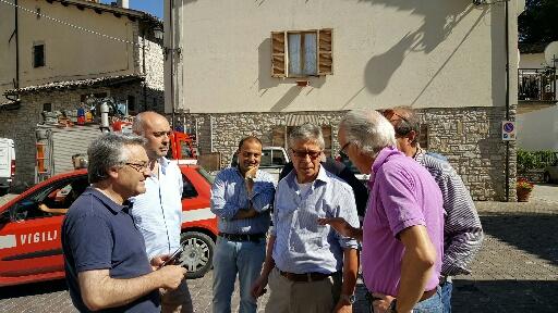 Sisma: notte senza forti scosse. Errani in Umbria e Abruzzo