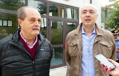 mauro-falcucci-sindaco-castelsantangelo-e-giuliano-pazzaglini-sindaco-visso_Foto-LB