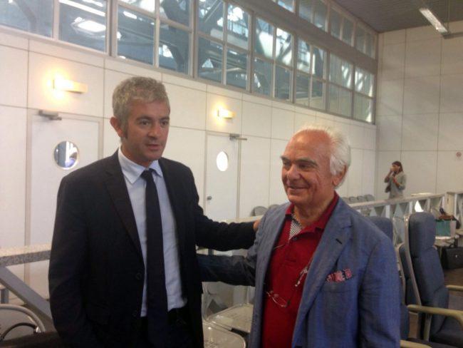 Gli avvocati Nicola Perfetti e Gianfranco Formica