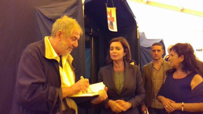 Il giornalista Maurizio Verdenelli intervista Laura Boldrini