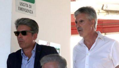 Andrea Bargagna (a sinistra) è l'avvocato che sta trattando l'acquisto della Maceratese per conto di alcuni imprenditori toscani