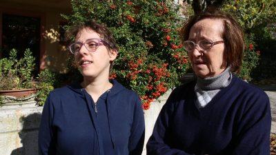 Pamela Nori e la mamma Rosa Seccaccini