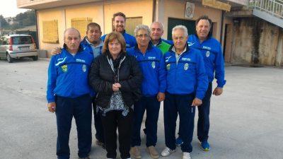 La squadra di Ruzzola del Serralta