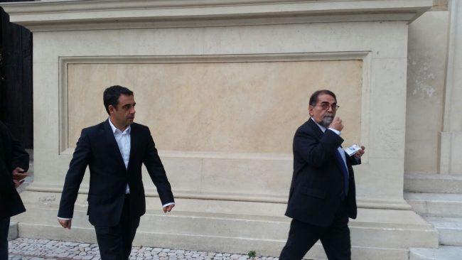 Da sinistra: Francesco Comi e Baldassarri