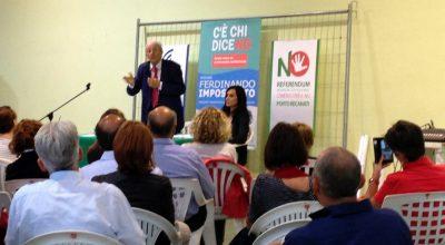 L'incontro a Porto Recanati con il magistrato Ferdinando Imposimato