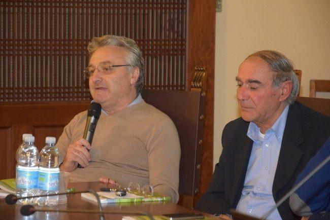 Angelo Sciapichetti e Venanzo Ronchetti