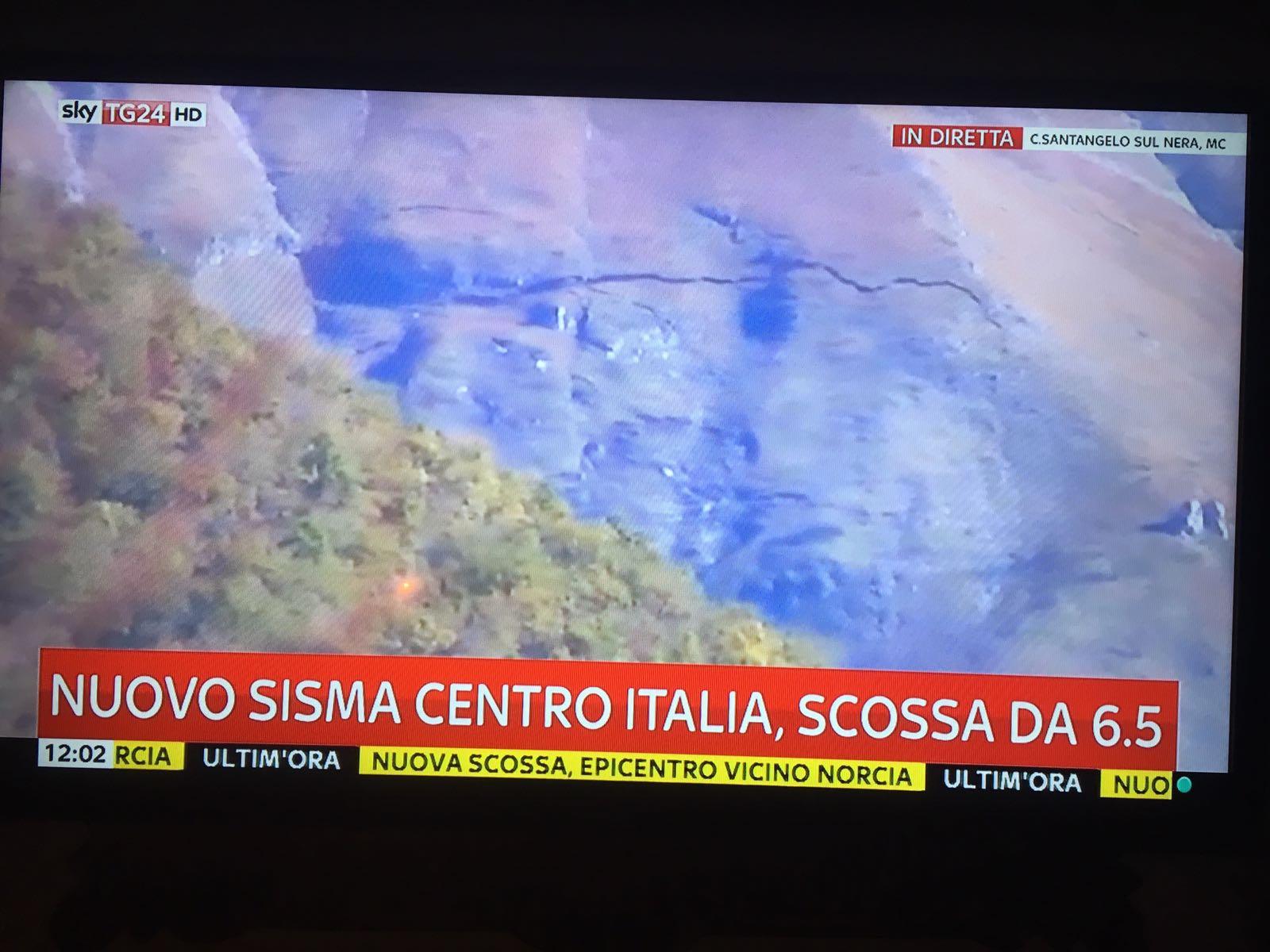 Terremoto Castelsantangelo sul Nera, due scosse in poche ore