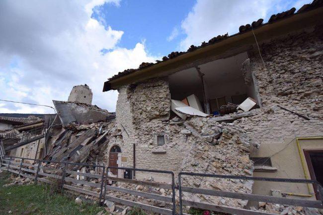 La casa di riposo di Castelsantangelo sul Nera