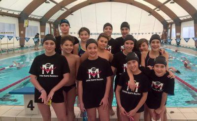 I ragazzi del Centro Nuoto Macerata