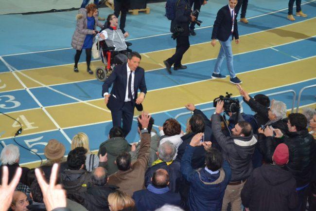 Matteo Renzi al Palaindoor di Ancona