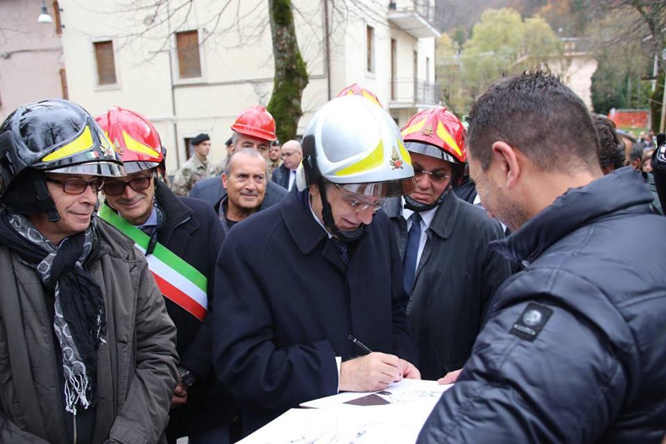 Terremoto, Presidente Mattarella a Preci e Norcia