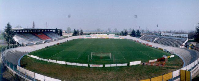 Lo stadio Rino Mercante