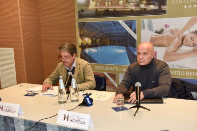 L'avvocato Bargagna e Filippo Spalletta