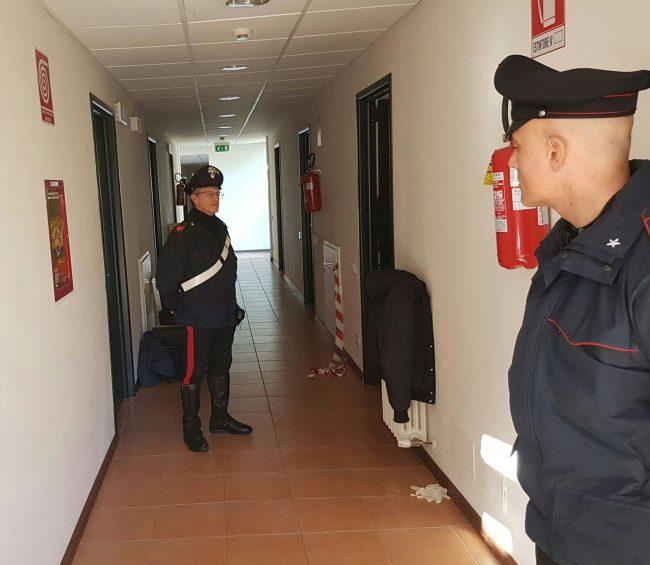 Il corridoio dove c'è la camera di Halima
