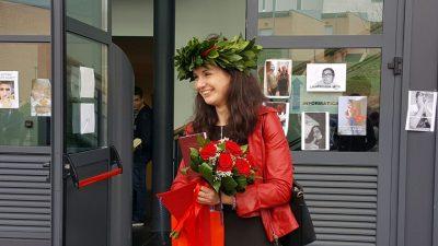 """Serena, neo laureata Unicam in partenza per il Belgio: """"Non sono un cervello in fuga"""""""
