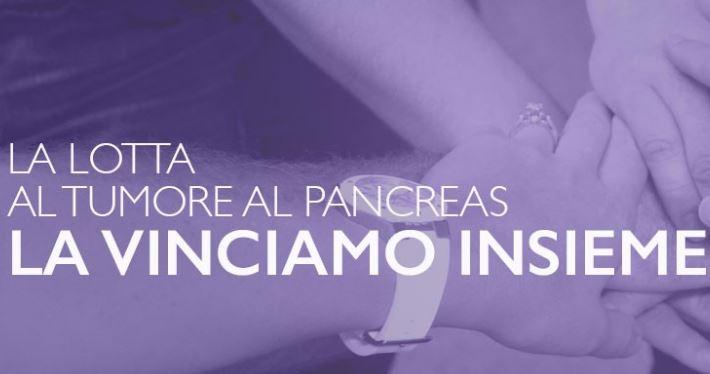 Lotta al tumore al pancreas, la loggia si tinge di viola