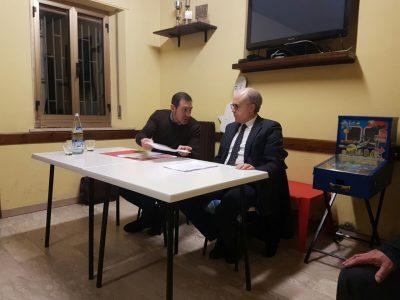 Gli avvocati Alberto Rossi e Fabrizio Panzavuota