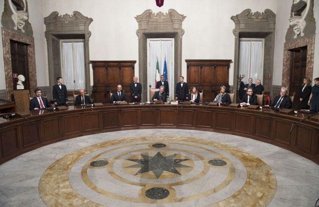Il primo Consiglio dei ministri