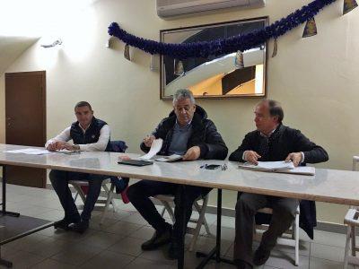 Da sinistra Mauro Canil, Sparvoli e Massimo Baldini