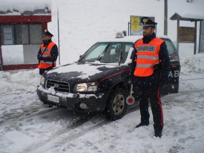 carabinieri-neve