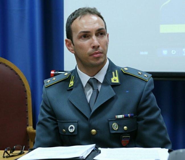 Tenente-Antonio-Di-Palo-comandante-fiamme-gialle-Camerino