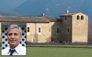 George-Clooney-si-sarebbe-interessato-al-castello-di-Beldiletto