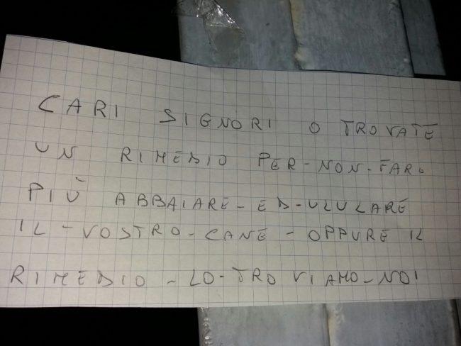 minacce-cane-borgo-san-giuliano
