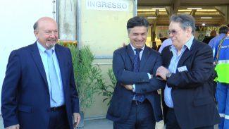 Il presidente Maccari con il rettore Corradini di Unicam