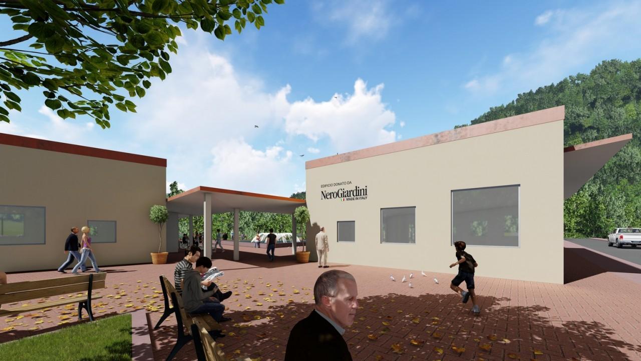 Nero Giardini Ufficio Stampa : Nerogiardini per il rilancio di visso nuova casa per i